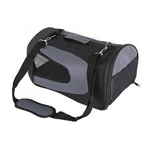 Amzdeal Sac de transport pour Animal Chien Chat Sac pliable à main ou à épaule de transport en Tissu Oxford Taille M (Noir) de la marque Amzdeal image 0 produit