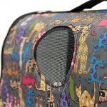 BXT® Caisse de Transport Voyage Domestique Portable Cage Animalerie Pliable Dehors pour Chien Chat Carriers Cages for Animals (Cartoon chat) de la marque BXT image 5 produit