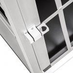 Cage de transport chien aluminium pour transport en voiture single (65/90/69,5cm) de la marque TecTake image 4 produit