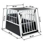 Cage de transport pour chien grande taille ; comment trouver les meilleurs en france TOP 2 image 5 produit