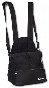 Doxtasy Sac de Transport Ventral pour Chien Jusqu'à 9 kg Noir Taille M de la marque Doxtasy image 0 produit