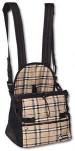 Doxtasy Sac de Transport Ventral pour Chien Jusque 5 kg Beige Écossais de la marque Doxtasy image 0 produit