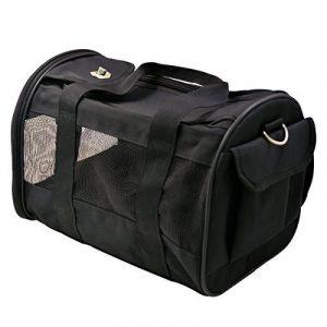 Hippih Pet Carrier pour chiens et chats Confort d'avion avec un certificat de voyage Tote Sac Souple Face de la marque Hippih image 0 produit