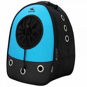 Okbuynow Sac à dos tout Confort pour chiens et chats jusqu'à 15kilos, pour aller faire une promenade, randonnée pédestre et cyclisme (bleu) de la marque OKBUYNOW image 0 produit