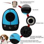 Okbuynow Sac à dos tout Confort pour chiens et chats jusqu'à 15kilos, pour aller faire une promenade, randonnée pédestre et cyclisme (bleu) de la marque OKBUYNOW image 1 produit