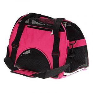 Sac de transport panier cage pas cher pour chien et chats fashion dogs coloris rose,bleu,vert avec 2 tailles disponibles de la marque TechBox image 0 produit