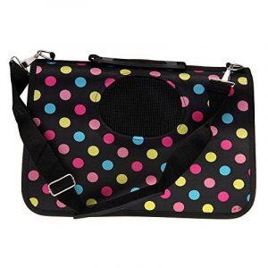 sac portable caisse sac panier de transport pour petits chiens ou chats taille L 34*19*27 de la marque TechBox image 0 produit