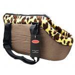 Tping Sac de Transport Souple Pet Dog Cat Puppy Carrier Bag Sac de Voyage à bandoulière Sac à main Lavable en Machine pour Chien Chat Taille Moyen M:45*25*20cm - Café de la marque Tping image 5 produit