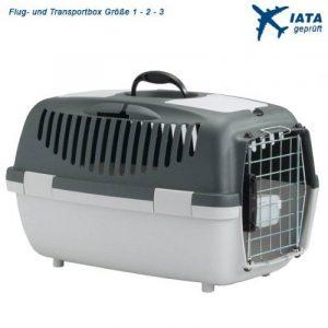 Van Riel - Gulliver - IATA - Cage de transport Gulliver IATA 1 grise pour chats et petits chiens de la marque Van Riel image 0 produit