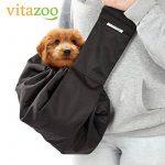 VITAZOO sac de transport pour chien avec épaulette confortable, réglable, lavable, résistant jusqu'à 15 kg | avec 2 ans de garantie satisfaction | sac de transport pour chien, animaux domestiques et chats, sac de transport, sac à dos chien, pochette de tr image 4 produit