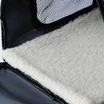 WOLTU HT2071gr Sac de transport en Oxford Cage pour chien,Caisse de transport pliable pour chien,environ 44*26*27,5 cm,Gris de la marque Woltu image 6 produit